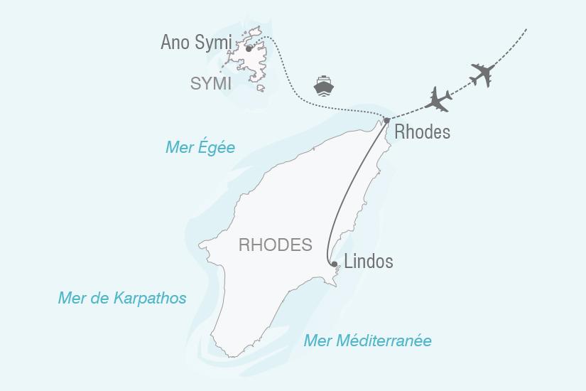 carte Grece Emerveillement a Rhodes NT20_341 100215