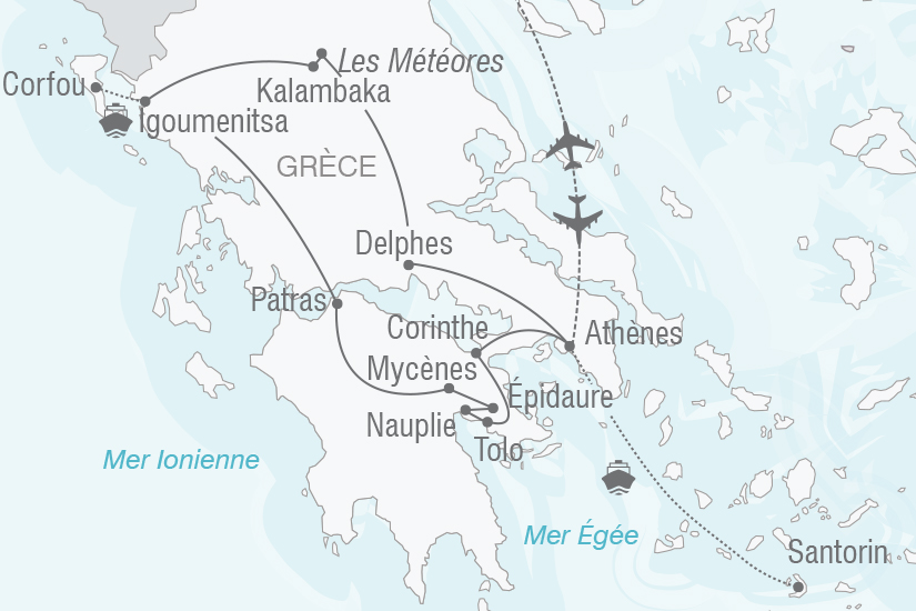 carte Grece La Grece Authentique NT20_341 402618