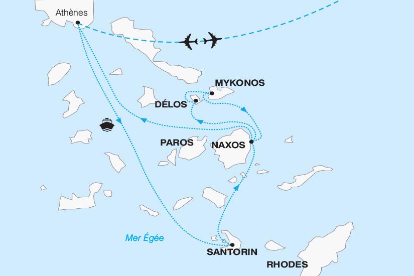 carte Grece Les Cyclades Magie des iles grecques 2018_267 518667