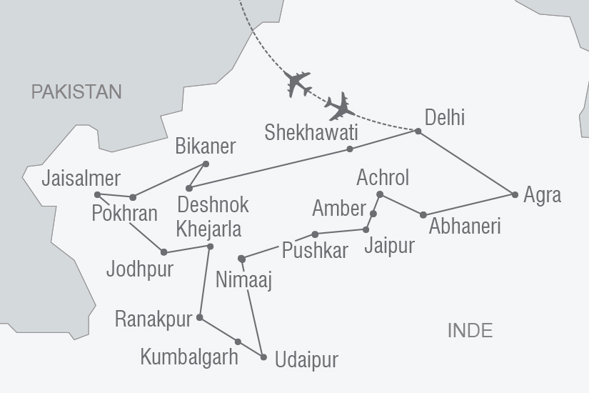 carte Inde L Inde des Maharadjahs NT20_341 171300