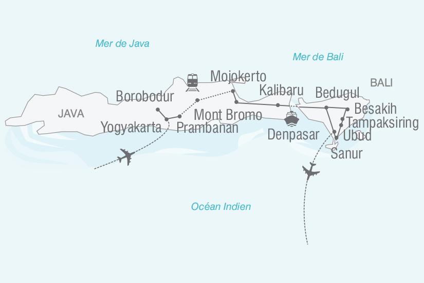 carte Indonesie Echappee Indonesienne a Java et Bali nt 2019_293 453047