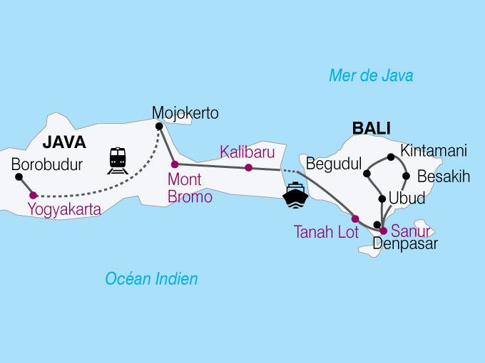carte Indonesie escapade java bali  nthiver 689222