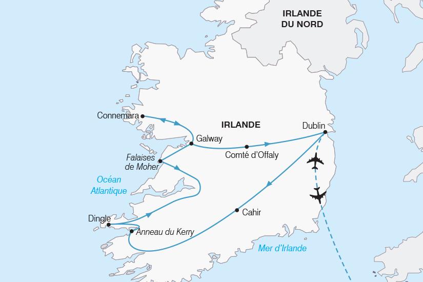 carte Irlande L Essentiel de l Irlande SH20_339 802727