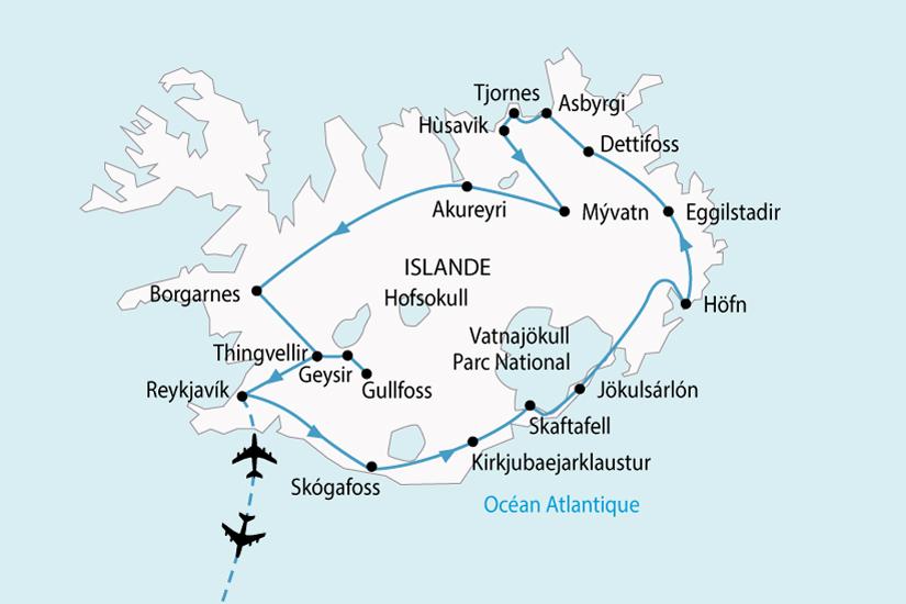 carte Islande LEssentiel 183116