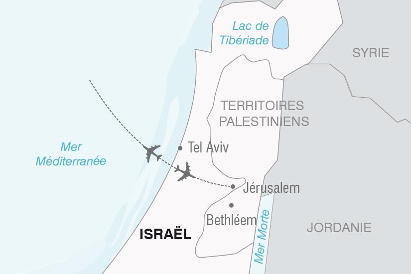 carte Israel Images de Jerusalem NT20_341 673299