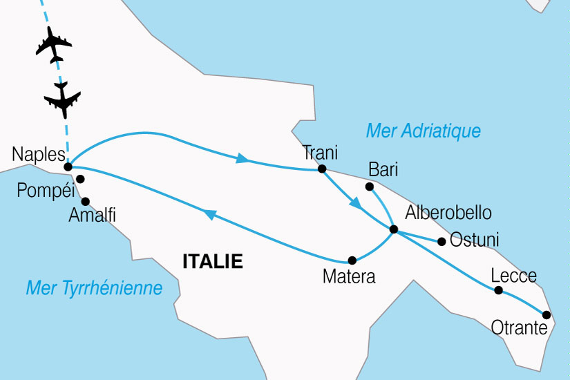 carte Italie Dolce Vita Napolitaine 798772