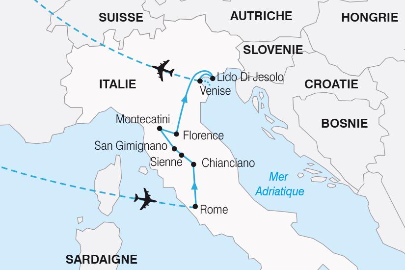 carte Italie Fascinante Italie de Rome a Venise SH20_339 323938