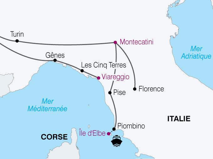 Assez Voyage en autocar Italie - Sardaigne : Florence, les 5 Terres et l  SF53