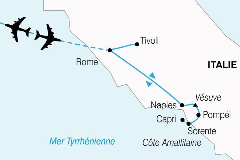 carte Italie Italie Sud 408215