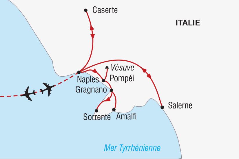 carte Italie Nouvel An a Naples_306 181190