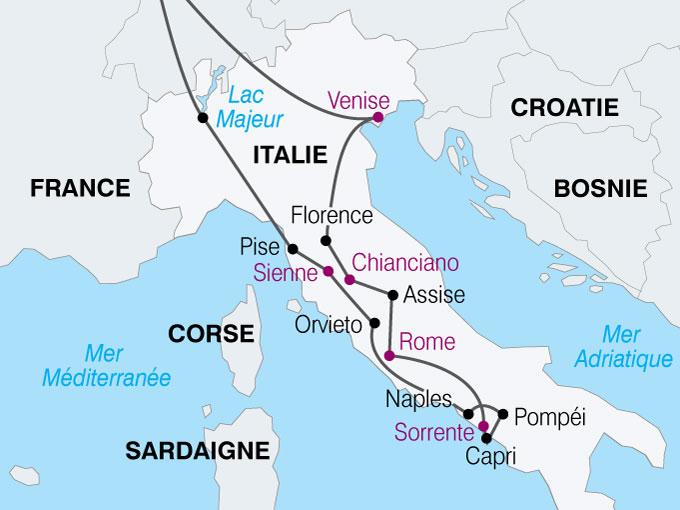 Voyage En Autocar En Italie Le Grand Tour D Italie 13