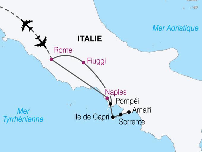 pompei carte italie