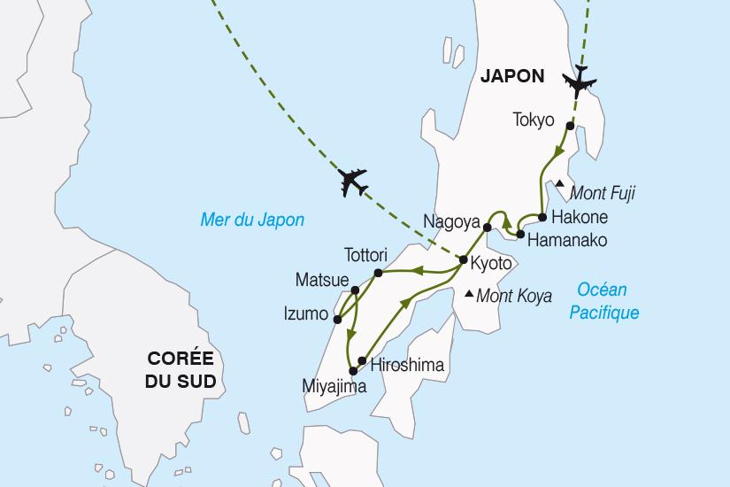 carte Japon Immersion en Terres Japonaises SH20_339 886536