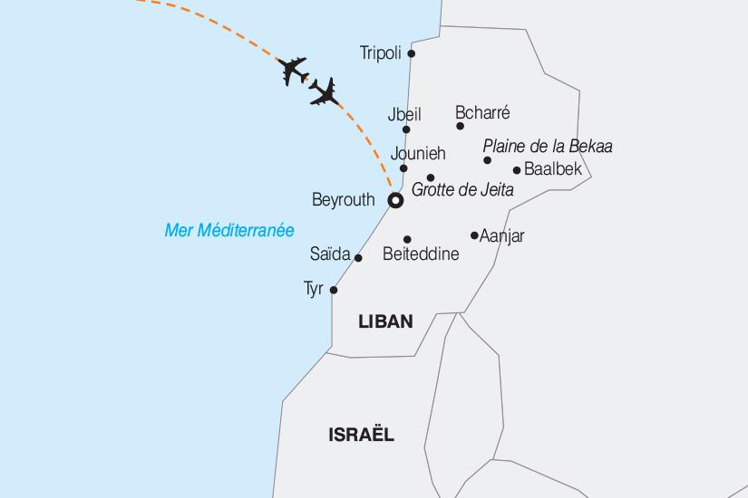 carte Liban Le Liban le Pays des Cedres 2019_292 179665
