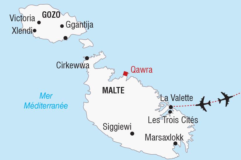 carte Malte Saint Sylvestre a Malte_306 801371