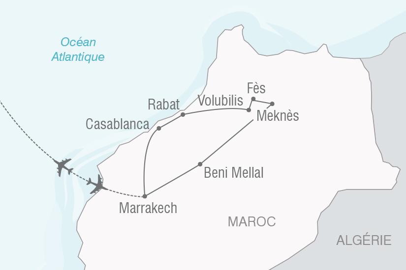 carte Maroc express NT20_341 399116