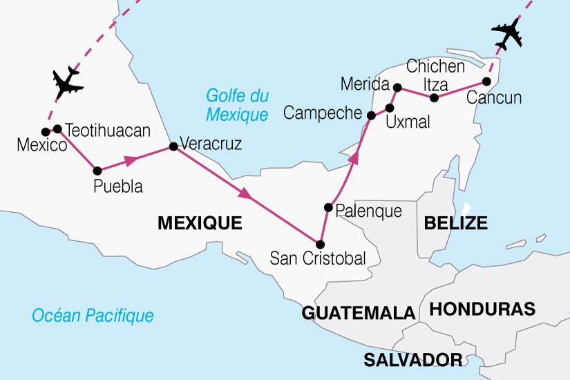 carte Mexique Essentiel 672211