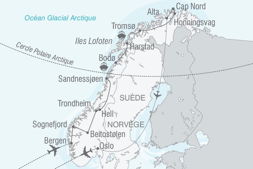 carte Norvege Le grand tour de norvege nt 2019_293 457620