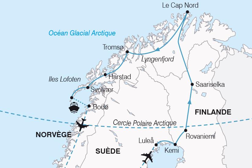 carte Norvege Magies du Nord 2019_292 842421
