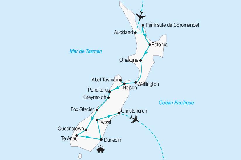 carte Nouvelle Zelande entre Ile Fumante et Ile de Jade 2019_292 2 817265