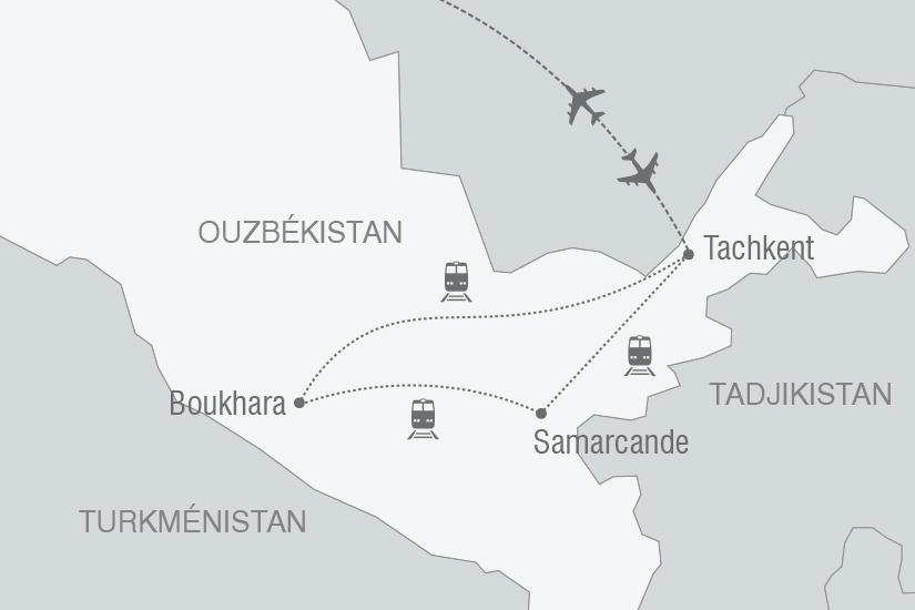 carte Ouzbekistan Secrets d Ouzbekistan NT19 20_314 118269