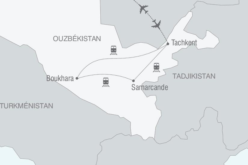 carte Ouzbekistan Secrets d Ouzbekistan nt 2019_293 298497