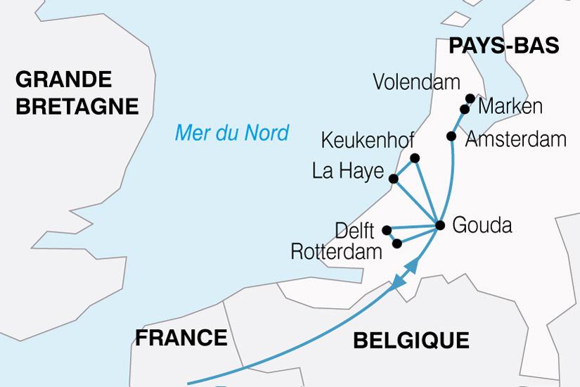 carte Pays Bas Fine Fleur 149000