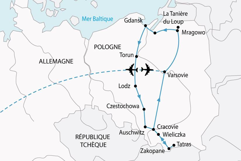 carte Pologne GrandTour 128243