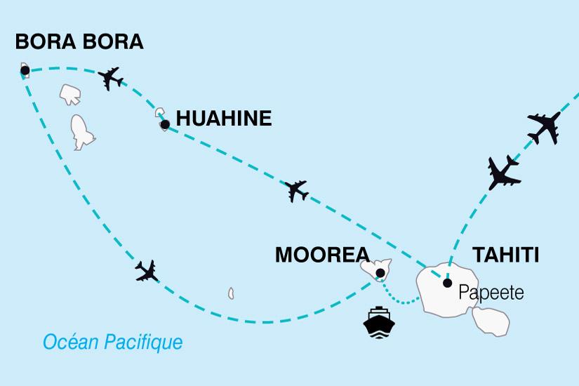 carte Polynesie Divine Polynesie Thahiti Bora Bora 892845