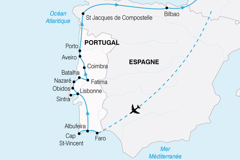 carte Portugal Grand Tour 292811