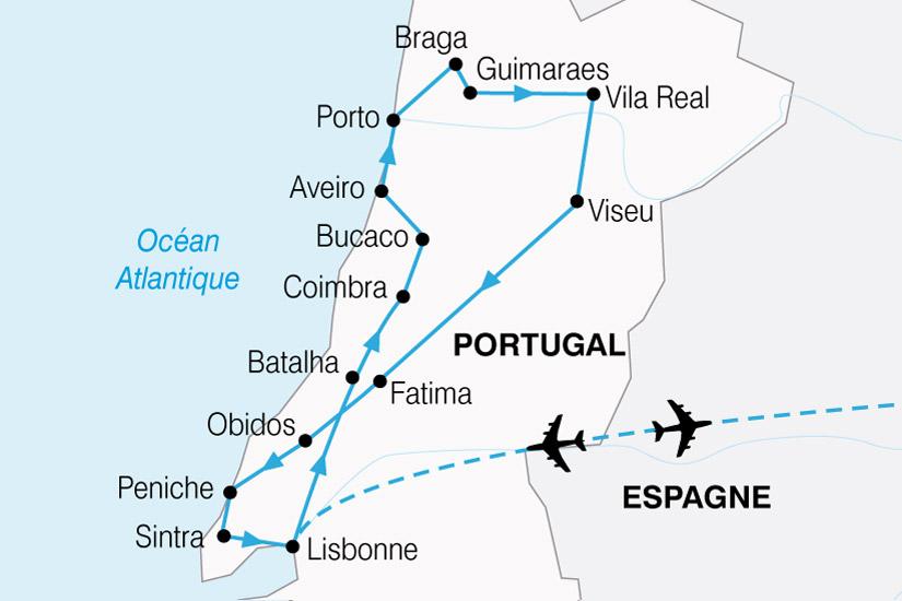 carte Portugal Tage Douro 468220