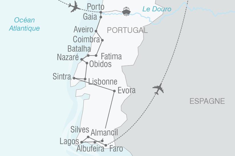 carte Portugal Toutes les couleurs du Portugal NT19 20_314 301997