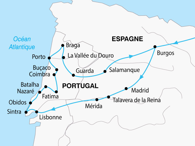 carte Portugal Tresors 242674
