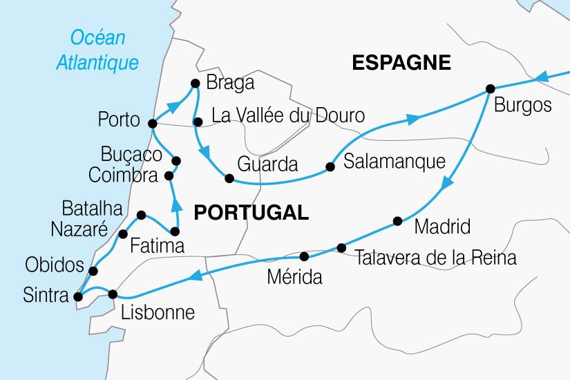 carte Portugal Tresors 484007