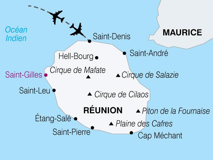 carte Reunion balade creole  nthiver 811184