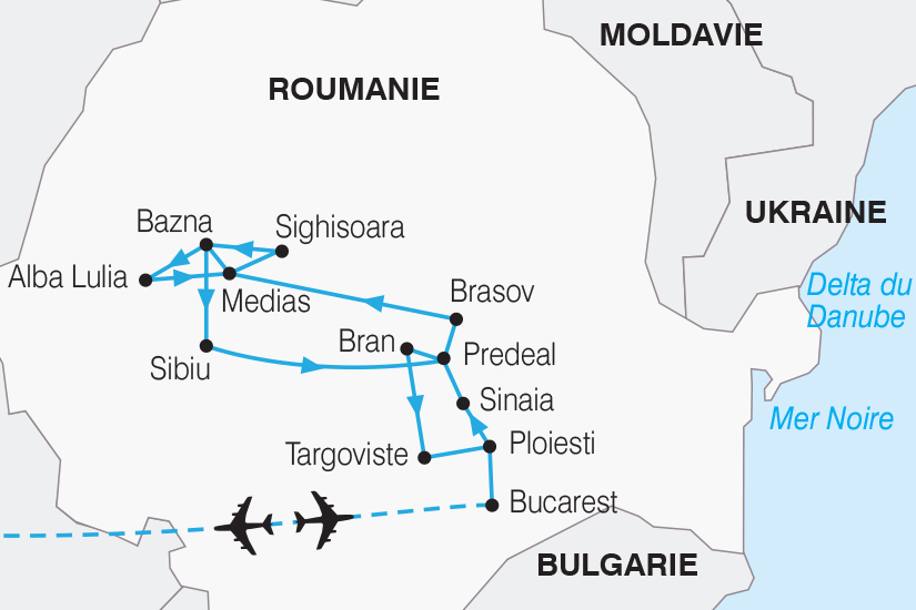 carte Roumanie Decouverte de la Transylvanie SH20_339 604968