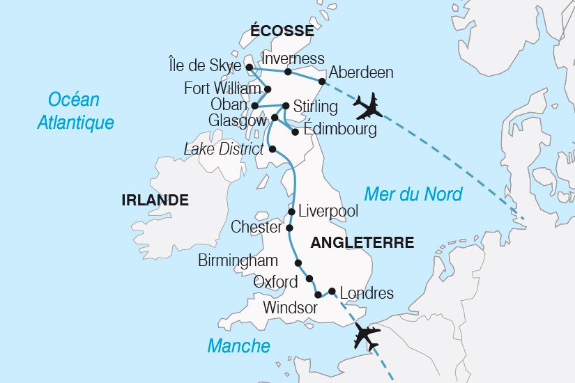 carte Royaume Uni L Angleterre et l Ecosse SH19 20_319 652628