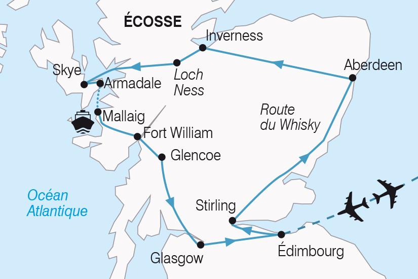 Ecosse - Grande-Bretagne - Royaume Uni - Circuit Splendeurs d'Ecosse