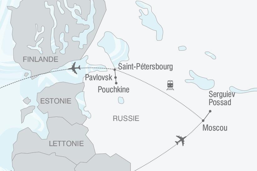 carte Russie De Moscou a Saint Petersbourg nt 2019_293 751897
