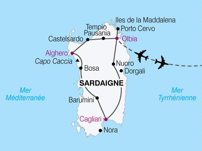 Circuit Italie Sardaigne Le Grand Tour De Sardaigne 8