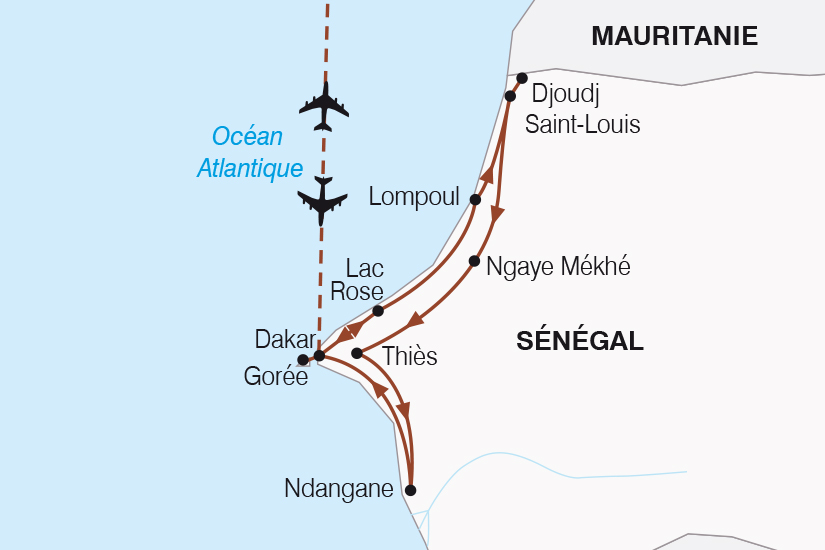 carte Senegal Le Senegal autrement SH20_339 640981