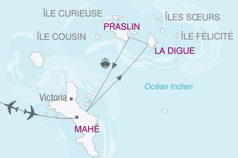 carte Seychelles Magie 685458