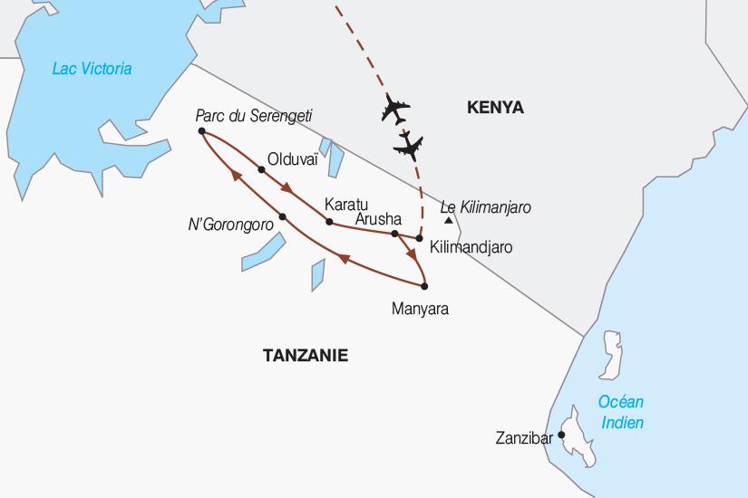 carte Tanzanie Tanzanie authentique 2019_292 228024