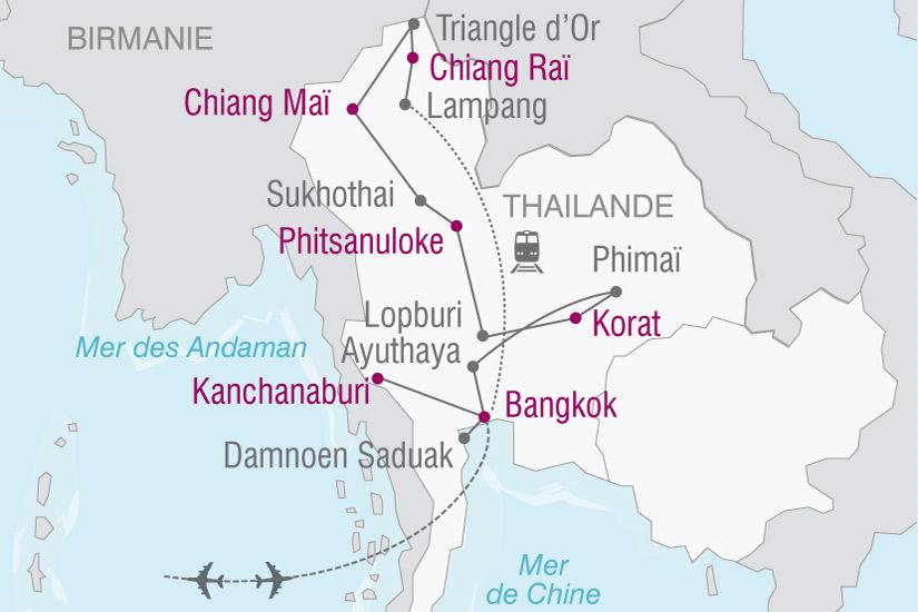 carte Thailande Dubai 174592