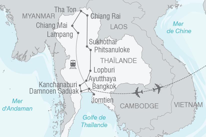 carte Thailande Insolite et authentique Thailande NT19 20_314 152657