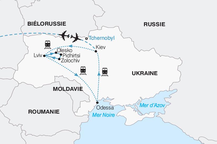 carte Ukraine Les tresors de l Ukraine 2018_267 450317