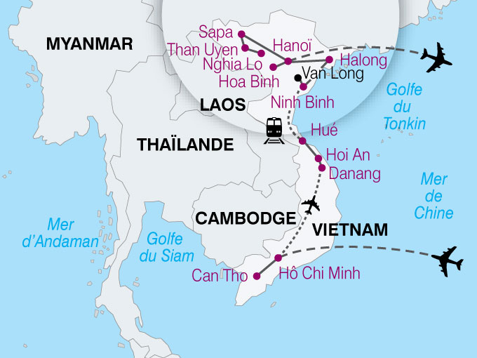 carte Vietnam Authentique  nthiver 357366