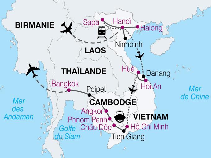 carte Vietnam Cambodge minorites ethniques  nthiver 584875