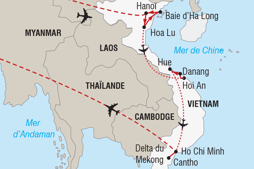 carte Vietnam Nouvel An en Baie d Halong_306 288706