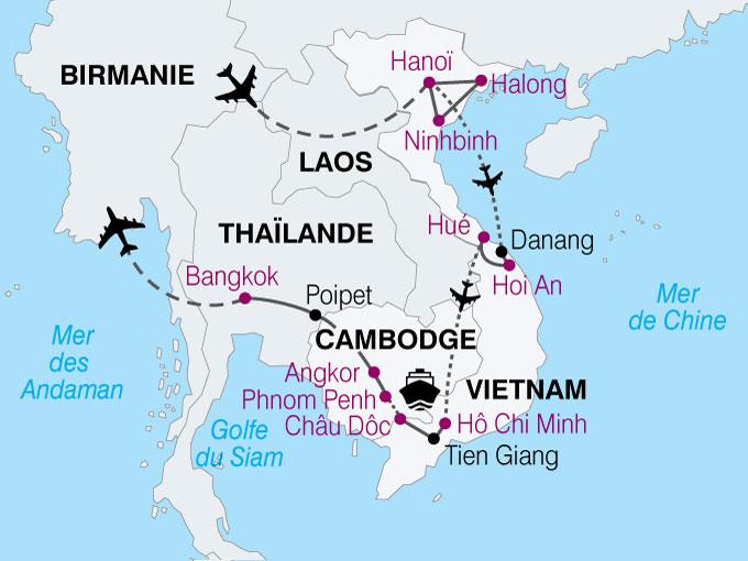 carte Vietnam Reflet Indochine  nthiver 598962